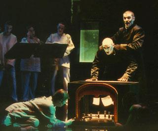 HoMo XeRoX, théâtre musical de Claude Lenners