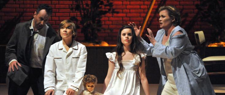 nouvelle production de The turn of the screw de Britten à l'Opéra de Bordeaux