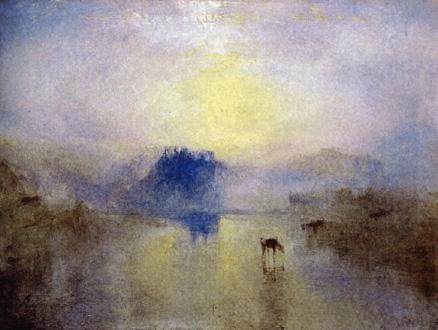 peinture de William Turner pour ce concert de l'Ensemble Intercontemporain