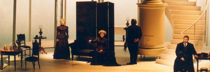 John Cox met en scène Vanessa de Samuel Barber à l'Opéra national de Rhin