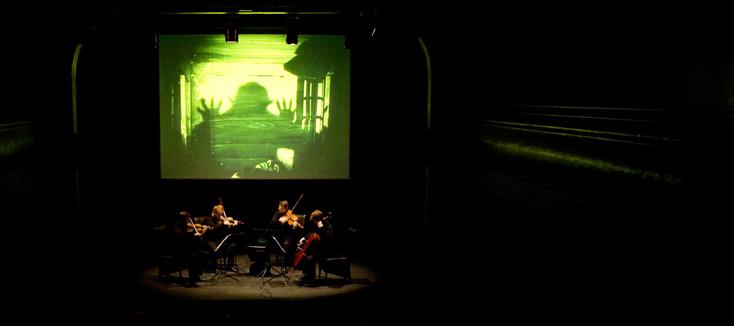 Nosferatu, film de Friederich Wilhelm Murnau et musique de Baudime Jam