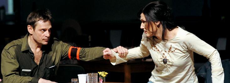 Angela Denoke (Marie) et Simon Keenlyside (Wozzeck) à l'Opéra Bastille